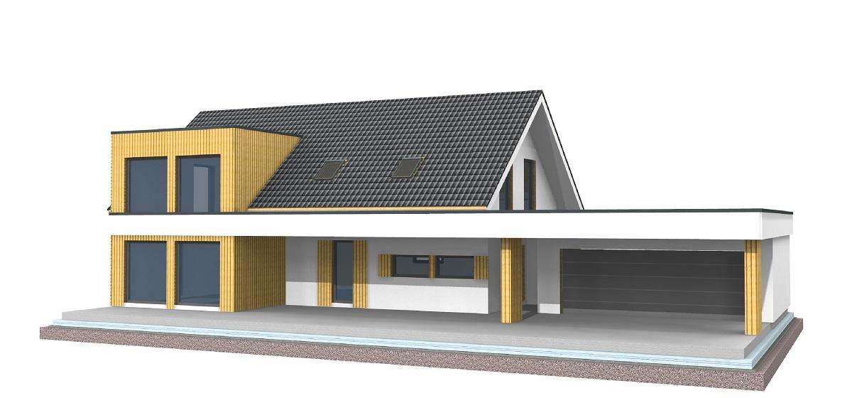 Skeletna hiša Projekt 805